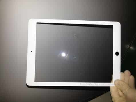 Purported iPad bezel leak; iPhone 5S in more colors?