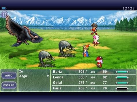Apps: Creatorverse 1.2, Final Fantasy V, Square Wallet 2.5.1 + Vonage Mobile 2.0