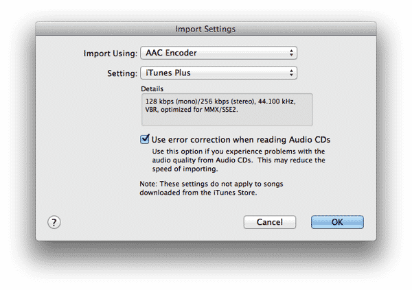 Setting up a ringtone in iTunes