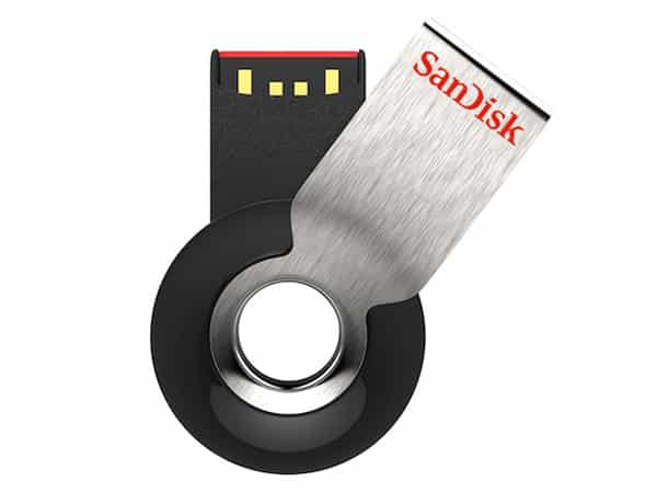 Sandisk Cruzer Orbit USB Flash Drive