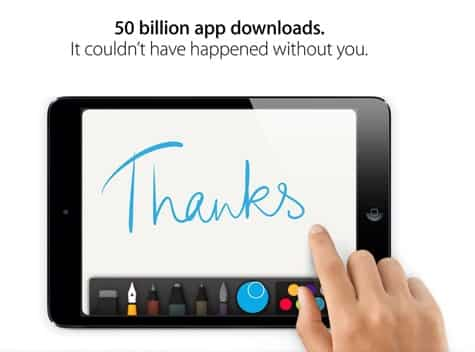 App Store hits 50 billion downloads