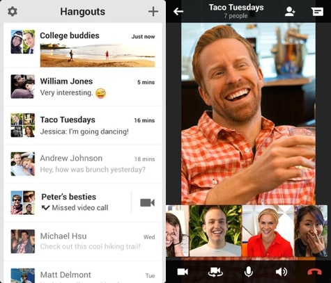 Google: iOS Hangouts, new Maps, Music All Access + More