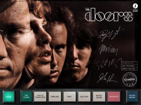 Apps: The Doors, PDFpen 1.5.2, Rovio Account + Viber 3.0
