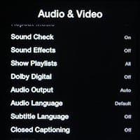 Enabling Video Playlists on Apple TV