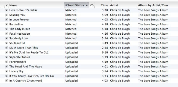 Retain existing tracks when enabling iTunes Match