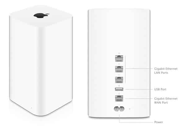 Apple AirPort Extreme (Mid 2013) + AirPort Time Capsule