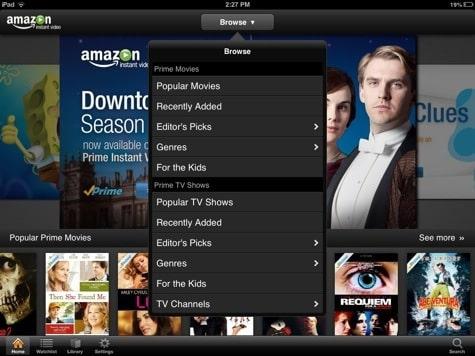 Apps: Amazon Instant Video 1.4.3, iTunes U 1.3.1 + Rdio 2.2.1