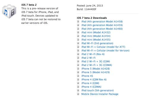 Apple releases iOS 7 beta 2 (Update: iPad release)