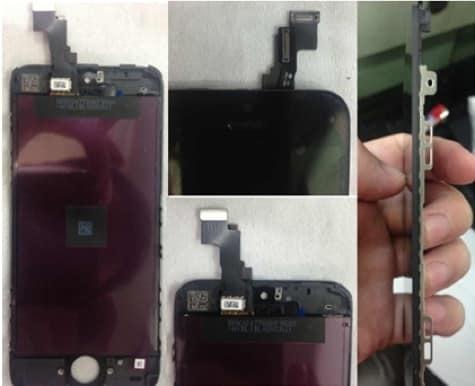 Alleged iPhone 5S leaks show display, logic board
