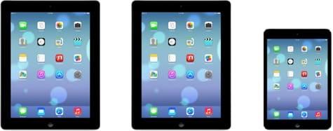 Apple site reveals iOS 7 for iPad, alternate icons
