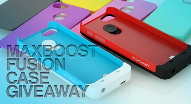 MaxBoost Fusion Battery Case Giveaway – Winners Announced