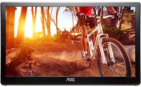 """AOC E1659FWU 16"""" USB 3.0 Monitor"""