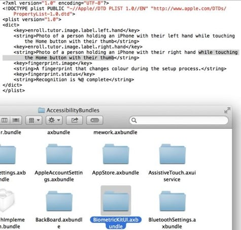 iPhone fingerprint sensor confirmed by iOS 7 beta 4?