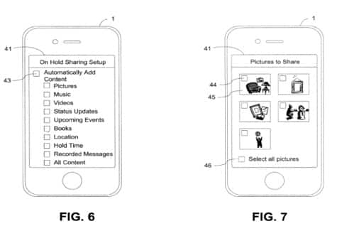 Apple patents: On-hold shared content, dual-sensor imaging