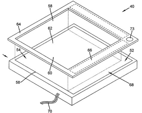 Apple granted patent for touch-sensitive bezel