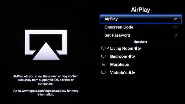 Streaming AirPlay audio via an Apple TV to an alternate destination
