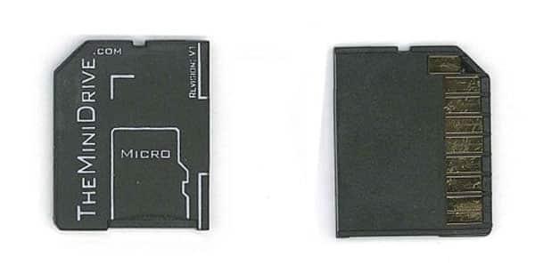 TheMiniDrive.com MiniDrive microSD Adapter