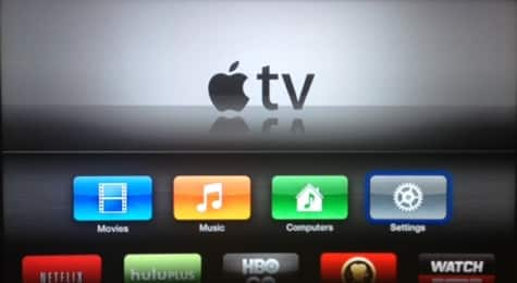 TV Shows disappear from Apple TV menu in outage