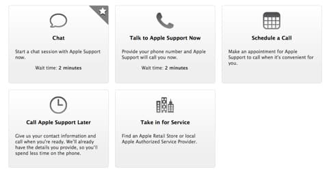 New AppleCare website, 24/7 chat support launched