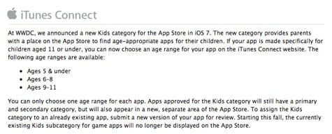 Apple outlines Kids app submission rules for Developers