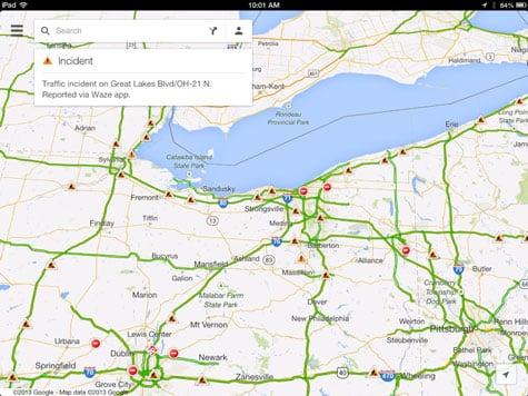 Apps: Google Maps + Waze, OverDrive 3.0, Procreate 1.9 + Sonic Dash 1.5
