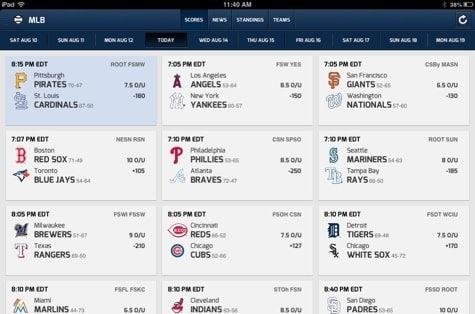 Apps: CBS Sports 6.0, KeyMe, Moose Math + Skype 4.1