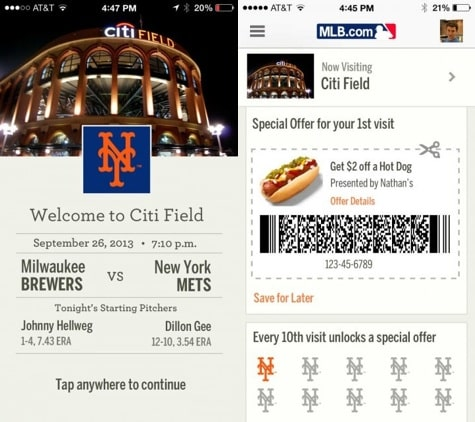 MLB to use iOS 7 iBeacon mapping in stadiums