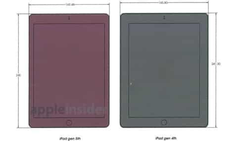 Fifth-gen iPad schematics leaked?
