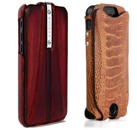 iPhone 5c/5s cases: Orbino's Patine, Pantera + iSkin's exo