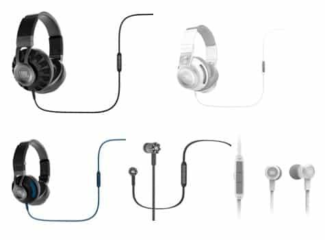 JBL debuts Synchros headphones line