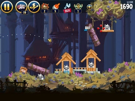 Apps: Angry Birds Star Wars, Infinity Blade 3, Reeder 2, ShutterSnitch 2.11 + Strata