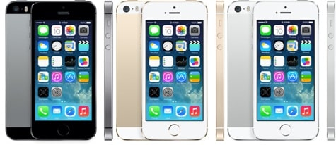 Apple debuts flagship iPhone 5s with Touch ID