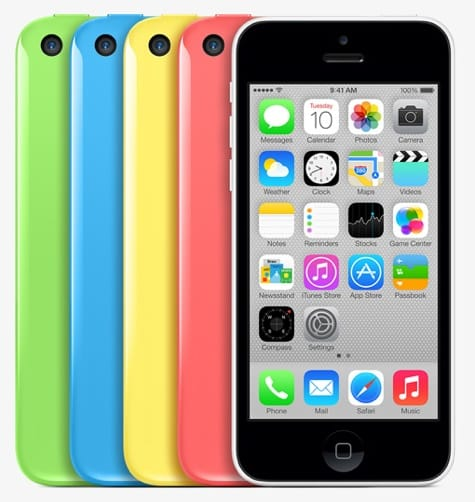 Apple debuts colorful iPhone 5c