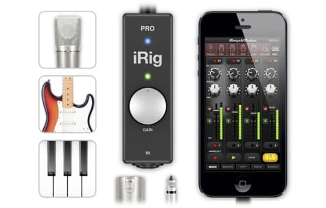 IK Multimedia debuts iRig Pro interface