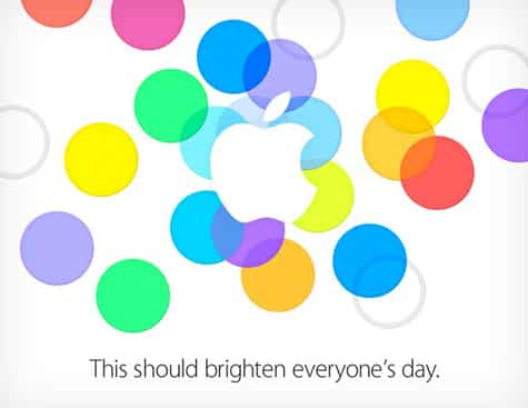 Apple invite officially confirms Sept. 10 iPhone event