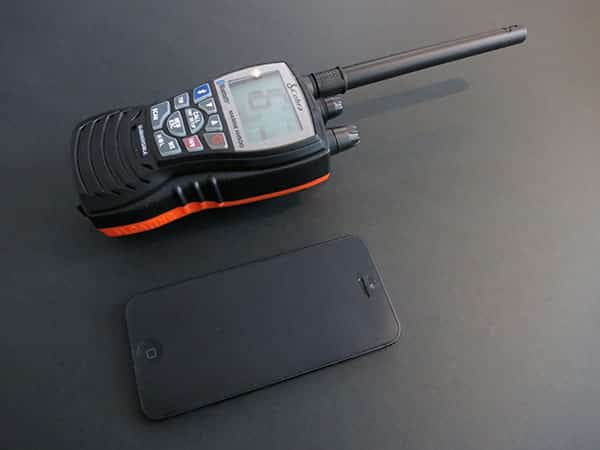 First Look: Cobra HH500 Floating VHF Radio with Bluetooth