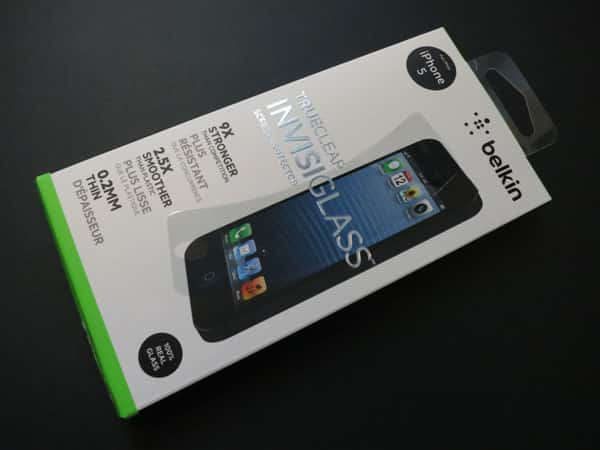 First Look: Belkin TrueClear InvisiGlass Screen Protector for iPhone 5
