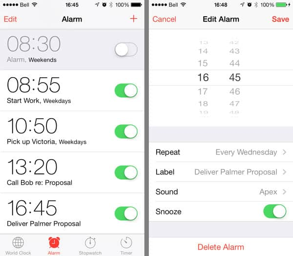 Scheduling Alarms when using Do Not Disturb