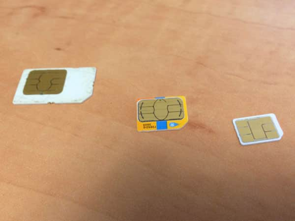 Transferring an iPhone SIM to another family member