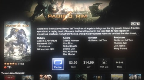 Apple TV rolling out updated movie/TV pages