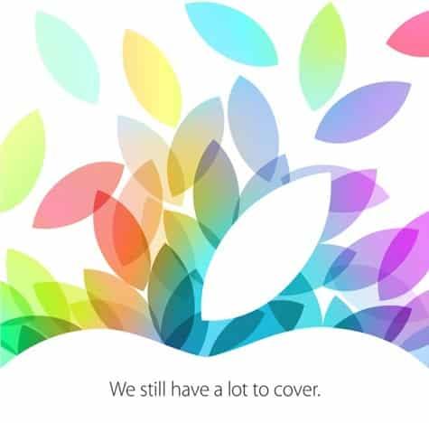 Apple sends invites to Oct. 22 iPad event