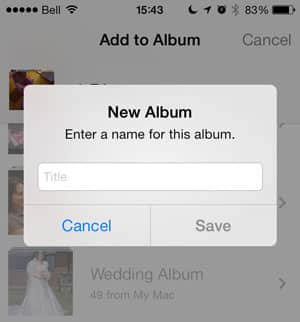 Deleted photos in Camera Roll also removed from albums