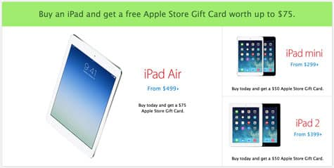 Apple Black Friday deals start in U.S. and Canada