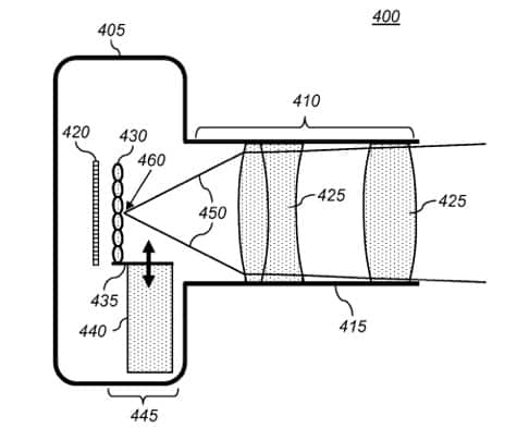Apple awarded patent for light field camera system