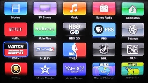 Yahoo Screen, PBS channels added to Apple TV