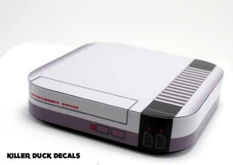 Killer Duck Decals features Apple TV skins