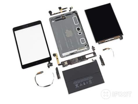 Retina iPad mini teardown: 24.3 WHr battery, LG screen