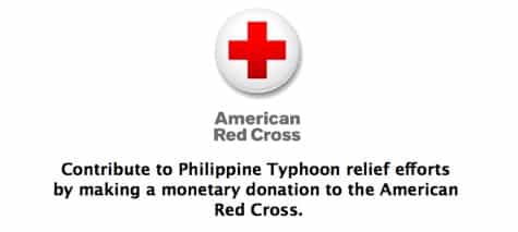 Apple enables iTunes donations for Philippines typhoon