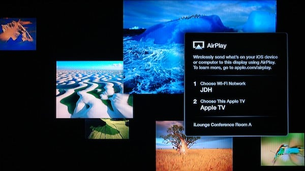 Enabling Conference Room Display on the Apple TV