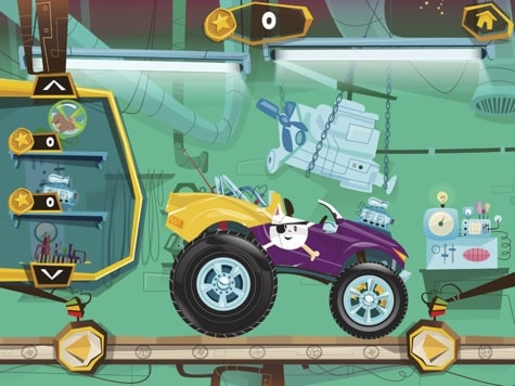 Apps: Build-A-Truck, Cut the Rope 2, Infinity Blade III 1.2 + Ridge Racer Slipstream